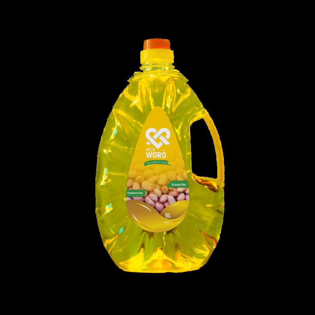 Worq Groundnut Oil