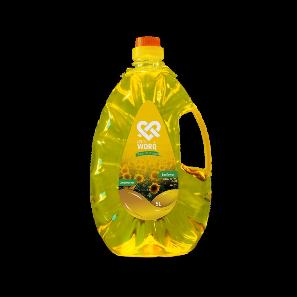 Worq Sunflower Oil