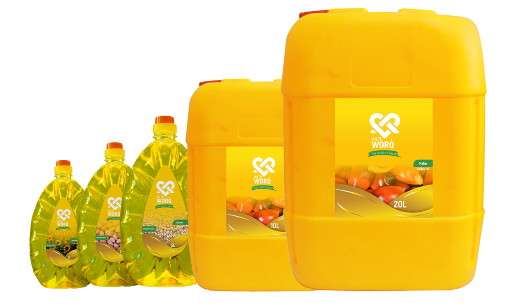 Worq All Oil Sizes ns2 Ethiopia's Biggest Edible Oil Factory