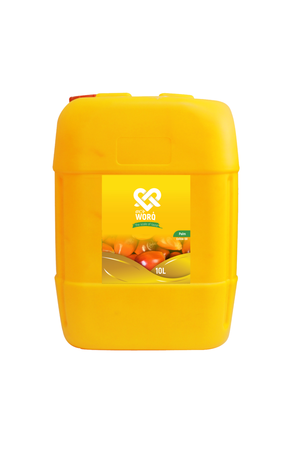 Worq Palm Oil 10 LMockup